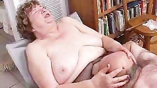 Nana Funk Pussy Licked And Blows Old Cock