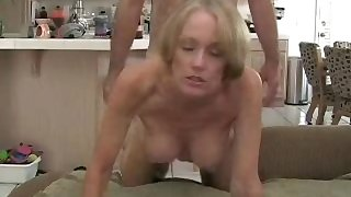 Stepson Gives Mom A Creampie