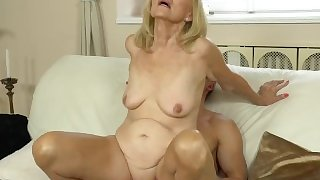 21SeXtreme Horny Granny Rides Young Studs Throbbing Cock