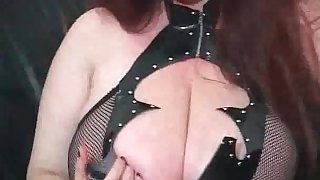 JOI Masterbation Instruction from a Massive Titted Granny